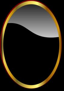 Ovaalne peegel