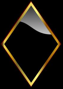 Rombikujuline peegel
